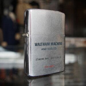 【メール便配送】 1965年製 ビンテージ オイルライター(WALTHAM MACHINE AND TOOL CO.) ジッポー zippo 【楽ギフ_包装】【楽ギフ_メッセ】 送料無料