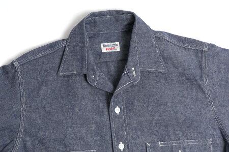 BIGDAY(ビッグデイ)ダンガリーシャツ/ヘビーウェイトMADEINJAPAN/80sスタイル