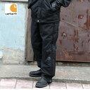 Carhartt カーハート #B216 SHORELINE PANT ワークパンツ レインパンツ ブラック