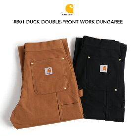 Carhartt カーハート #B01 ダブルニーダックペインターパンツ BROWN&BLACK ワークパンツ ワークウェア ペインターパンツ 裾上げ無料