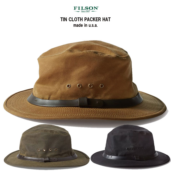 FILSON(フィルソン)ティンクロス パッカーハットmade in usa