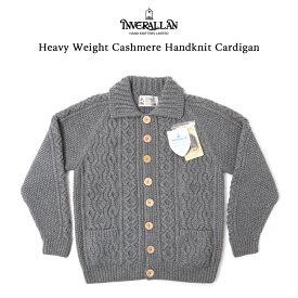 INVERALLAN インバーアラン ヘビーウエイト カーディガン ハンドニット カシミア100% 限定品 ハンドニットカーディガン 厚地 ニット スコットランド製 メンズ