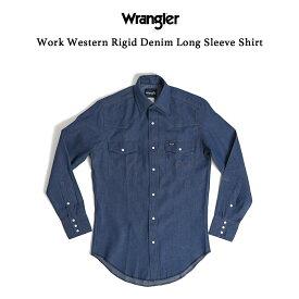 デニムウエスタンシャツ ラングラー(Wrangler)【楽ギフ_包装】【楽ギフ_メッセ】【10BUY10%OFF】