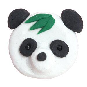 アシーナ スカルピー3キット 笹パンダ(ブローチ) 簡単 手作りキット