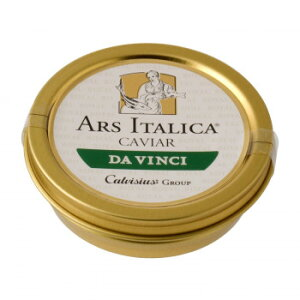 アルスイタリカ イタリア産キャビア ダヴィンチ(アドリアチョウザメ) ソフトパスチュライズ 50g 7205