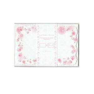 クリエイトジー ダイカットミニレターセット 小花柄 CGL141 6セット
