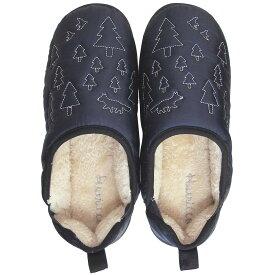 Boa slippers(ボアスリッパ) ダウンスリッパ ネイビー Lサイズ(25-27cm) 72178