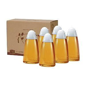 武州養蜂園 純粋アカシア蜂蜜 花の露 キッチンボトル 800g×6本 5618