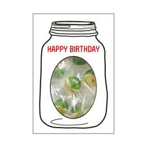 444 GREETING SWEETS スイカ塩あめ スイカYL 10パック入 HAPPY BIRTHDAY