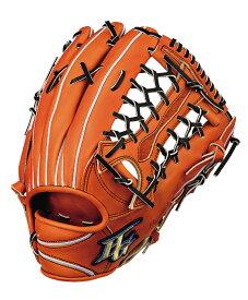 ハイゴールド 硬式野球グラブ 心極(和牛シリーズ) 外野手用グローブ コルクタン×ブラック KKG2008CTN 送料無料 2020年モデル