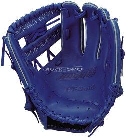 軟式少年野球グローブ ハイゴールド HI-GOLD M-Lサイズ 軟式 グラブ グローブ ブルー 青 少年 野球 RKG1824 送料無料 2019年モデル