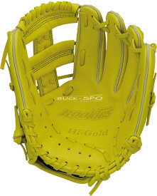 軟式少年野球グローブ ハイゴールド HI-GOLD S-Mサイズ 軟式 グラブ グローブ ナチュラルイエロー 黄 少年 野球 RKG1826 送料無料 2019年モデル