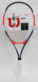 Wilson(ウィルソン) 硬式テニスラケットFUSION XL(フュージョン) WRT3207002 1本 張り上がり