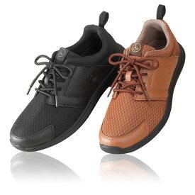 超軽量 衝撃吸収 作業靴 カジュアルシューズ2色組 紳士 INT-038 TOROY/トロイ