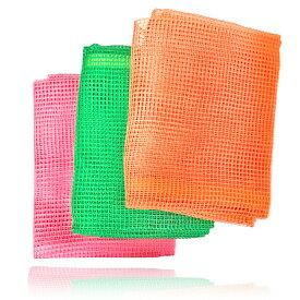 ボディタオル綿100%美肌健康浴用タオル3本セット(旧ビオネット)