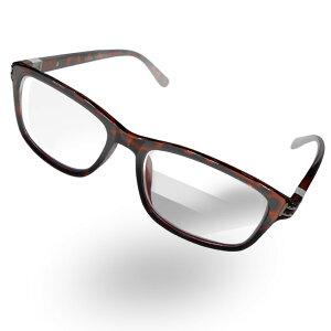 3段階の拡大率 1.0倍&1.2倍&1.5倍 拡大鏡 眼鏡型 トリプルアイルーペ男女兼用