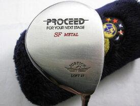 【中古】[8805]【あす楽】【Bランク】FW3TourSpec R ジャスティック プロシード SF メタルJUSTICK PROCEED SF METAL/Fujikura SPD661Tour Spec/R/15度