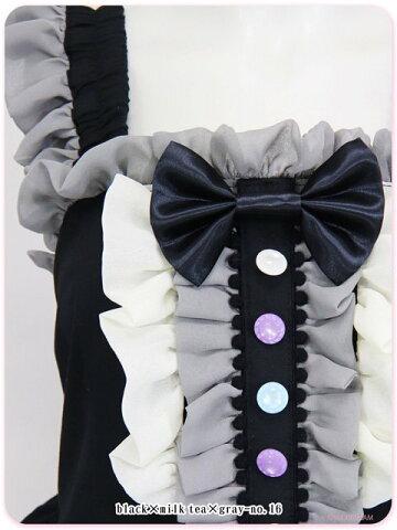 8W1001虹色魔法の秘密のマジカル☆ジャンパースカート【マキシマム/ロリータ/ゆめかわいい】