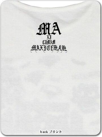 9X2007マジカルマキシマムPTカットソー【ゴスロリ/猫/大きめ/パンク】