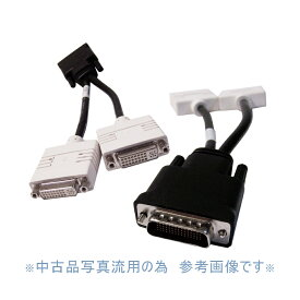 DMS-59 DVI分岐ケーブル DVI-I x2分配 DVI変換コード 訳アリA02036