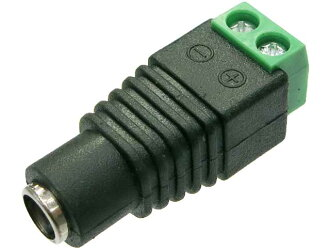 AseiwaA DC Jack -2 pole terminal conversion connector 2 extreme child (nothing)