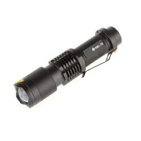 懐中電灯 1200ルーメン CREE XML T6 LED LEDライト ズーム機能 点灯3モード