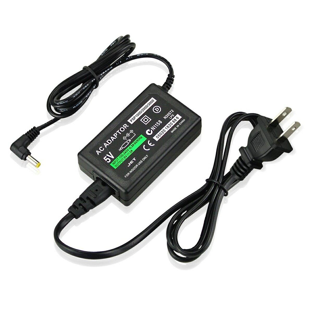 PSP 充電器 ACアダプター家庭用コンセント接続タイプ PSP-1000・PSP-2000・PSP-3000対応アクセサリ充電器 ACアダプター