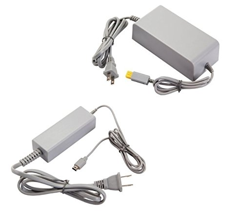 任天堂 Wii U 本体専用 ACアダプター+Wii U 専用 GamePad ゲームパッド 充電 ACアダプター Nintendo 新品 互換品