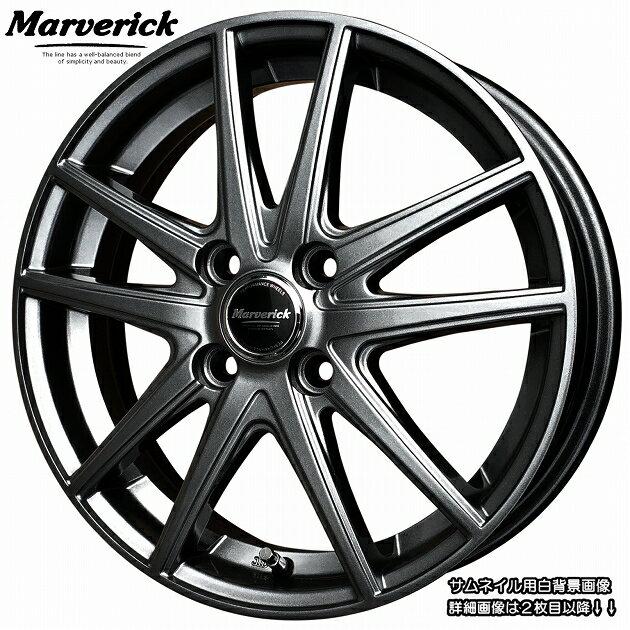 ■ Marverick MA-01 ■綺麗な軽四用15inホイールHankook 165/55R15 タイヤ付お買得4本Setステラ/スペーシア/アルトラパン/パレット/ワゴンR/タント/ウェイク/ミライース/ムーブカスタ ム/ココア/N-BOX/N-ONE/N-WGN/デイズルークス/モコなど