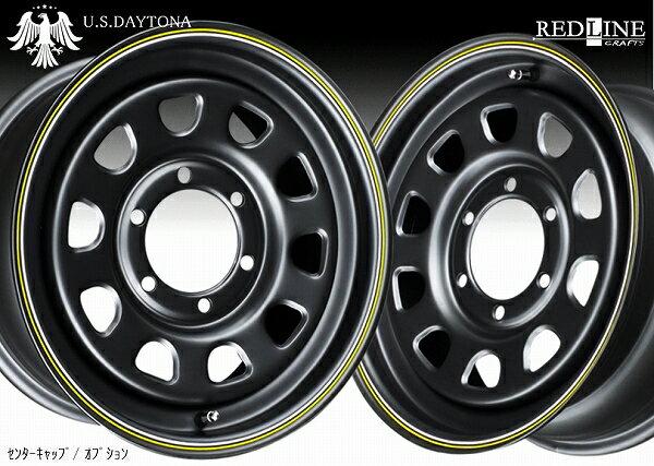 ■ U.S.Daytona デイトナ ■GOODYEARナスカー 215/65R16 タイヤ付マットブラックカラー 200系ハイエース他