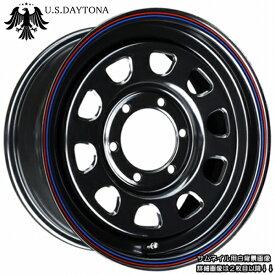 ■ U.S.Daytona デイトナ ■KAPSEN RS01 215/65R16 タイヤ付ブラックカラー 200系ハイエース他