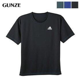 グンゼ GUNZE アディダス adidas 吸汗速乾 インナーTシャツAPU113A