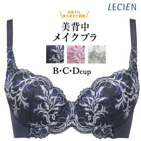 ルシアン LECIEN レディース キレイ魅せ 美背中メイクブラ ワイヤーブラ B・C・Dカップ 16459