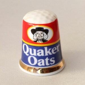 クエーカー オーツ Quaker Oatsアメリカ グラノーラ シリアル シンブル 指貫き イギリス アドバタイジング ADVERTISING 広告