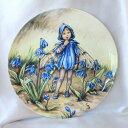 Wedgwood シラー フェアリー Scilla Fairy 花の妖精が可愛らしいフラワー フェアリー 絵皿 シシリー メアリー バーカー イギリス ウェ…