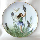 ラベンダー Lavender Fairy 花の妖精が可愛らしいフラワー フェアリー 絵皿 シシリー メアリー バーカー ドイツ ハイ…