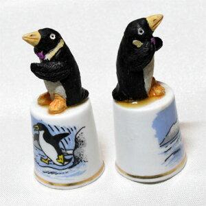 ペンギン モデルトップ バーチクロフト シンブル 指貫き ソーイング キルト パッチワーク コレクション アイテム 誕生日 ギフト プレゼント 02P24Dec15