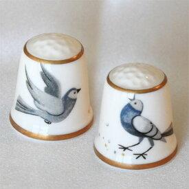 ダヴ Dove 2羽の鳩 ハト ピジョン Pigeon サザーランド Sutherland 鳥 バード シンブル 指貫き ソーイング キルト パッチワーク コレクション アイテム ウェディング 結婚 祝い プレゼント P16Sep15