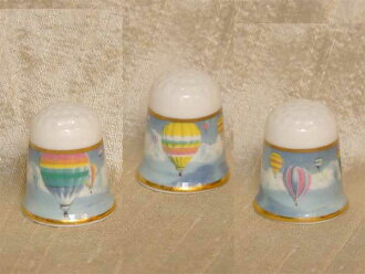 1988 年,TCC 的氣球氣球氣球科爾波特科爾波特頂針返回生日禮物縫紉集合專案配套 02P23Aug15