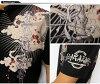 短劍 [鑽 Jara] 加羅 [加羅洛] 協作與雷暴圖案刺繡圖案 t 恤 / polo 衫 /GRH-404