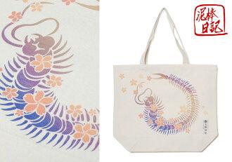 小偷日記蜈蚣帆布大生態和諧模式的手提袋 /BAG/D14080EL