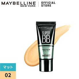 メイベリン SP BB モイストマット 02 ミディアム オークル(30ml)【メイベリン】