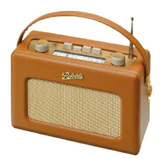 英国罗伯茨无线电 R250 真皮谭 (黄金面板模型带背光)