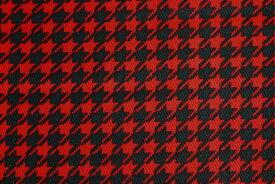 千鳥格子 ツイル生地 小柄 【千鳥格子柄 小】綿100% 生地巾 約110cm 日本製【50cm以上10cm単位での販売】