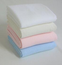 ガーゼ 生地 無地 ダブルガーゼ 日本製 110cm巾 【50cm以上10cm単位での販売】