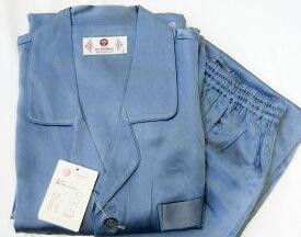 【気持ち良く熟睡できるシルクパジャマ】丈夫な厚手19匁シルク100%美容と健康パジャマ(男性用)ズボンは前開き一つボタン仕上げ。 シルクの効果で快適快眠〜♪肌の保湿力アップ効果/中国製/冷え取り/肌の保湿/保湿/送料無料/16000