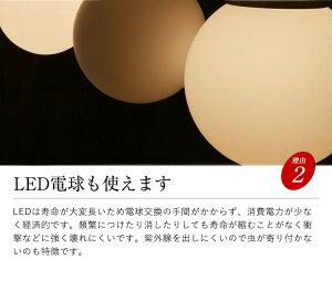 送料無料30センチガラスボールペンダントライト照明おしゃれLEDシーリングライト北欧西海岸丸玄関LED天井照明吹抜け1灯レトロカフェLED電球リビングアンティークミルクガラス球球型100W6畳かわいい寝室