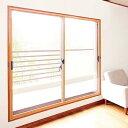 軽量断熱内窓 楽窓II (ラクマド2)中空ポリカ(プラダン)2枚引き違いタイプ【C-5サイズ】