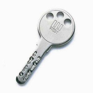 WEST ディンプルシリンダー メーカー純正合鍵(キーNo.EA/YBで始まるキー)
