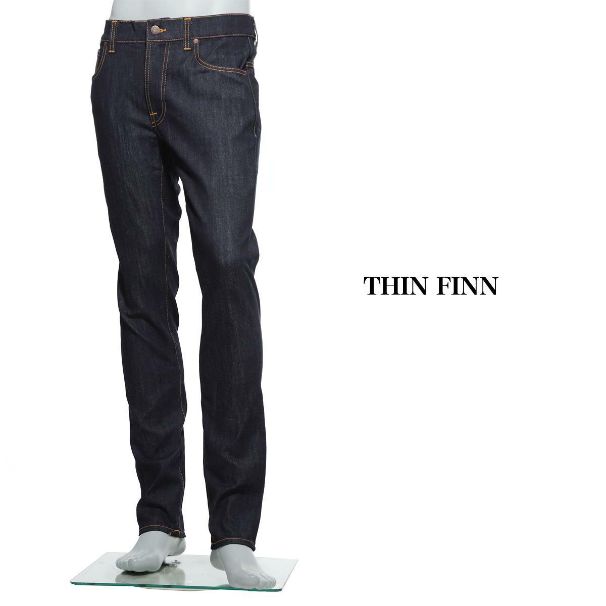 ヌーディージーンズ nudie jeans co ストレッチジーンズ ブルー メンズ シンフィン ストレッチデニム thin finn 110268 THIN FINN【ラッピング無料】【返品送料無料】【171016】